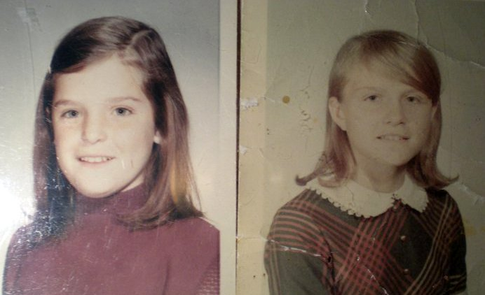 Rose and Michele grade school
