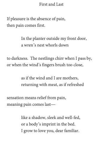 Poetry And Chronic Pain Michele Sharpe